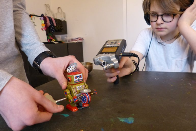 Feierwerk_Blog_Radio_Audioguide_Lenbachhaus_Roboter