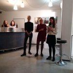 Die Künstlerinnen Sophie Neudecker, Lea Novi und Eva Kellner-Schug