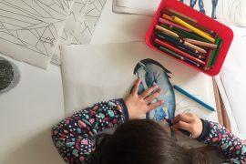 Feierwerk_Blog_Kinder_und_Familie_Dschungelpalast_Acrylmalen_Kind_1