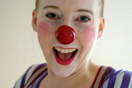 Feierwerk_Blog_Clown_Kirstie_Handel_Dschungelpalast_Clowness_Glucks