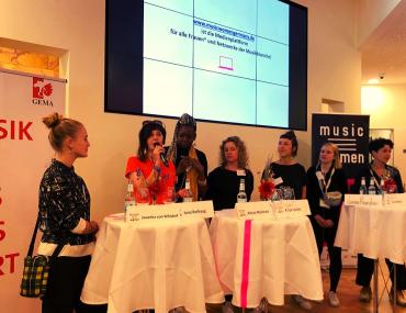 Feierwerk_Fachstelle_Pop_Reeperbahn_Festival_2019_Panel zum Launch der Music Women Germany Datenbank
