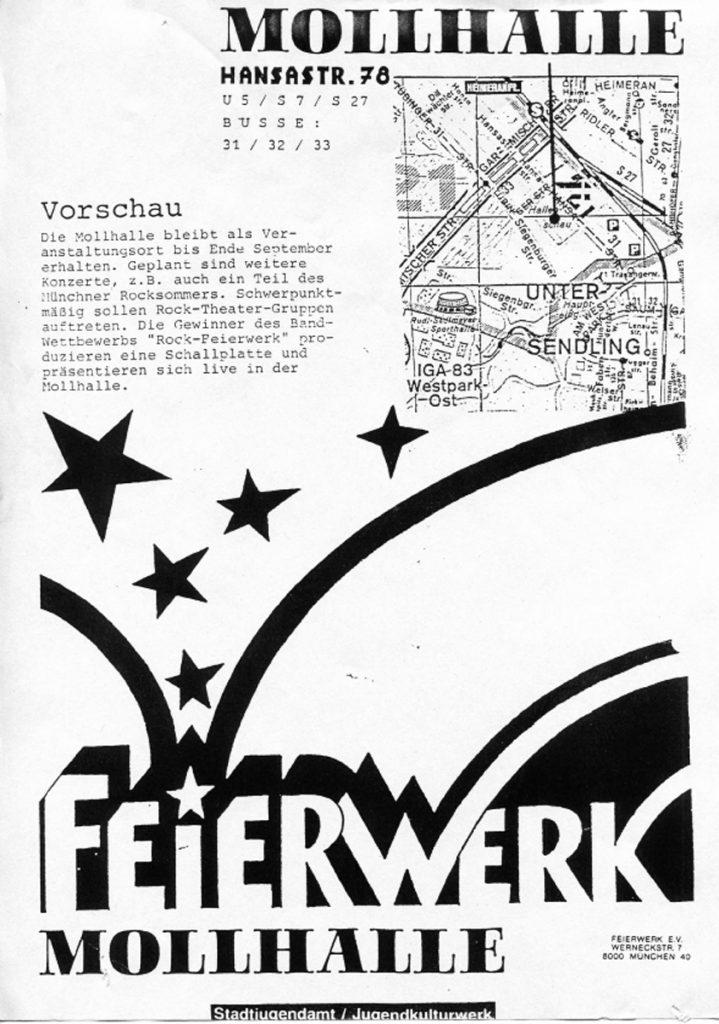 Feierwerk_Blog_Geschichte_Historie_Mollhalle_1985_06_Mollhalle_Vorschau_credit_Feierwerk