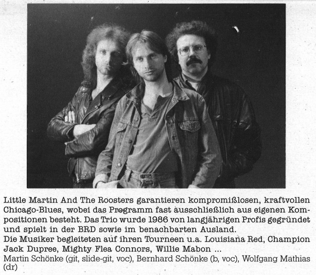 Feierwerk_Blog_Munich_Blues_LP_Sunrise_1988_ Band 1_Little_Martin_And_The_Roosters_(c)Feierwerk