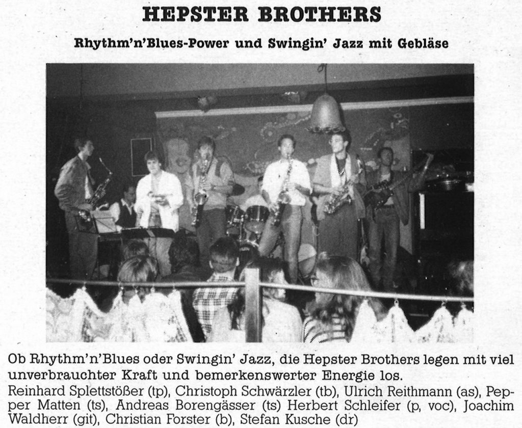 Feierwerk_Blog_Munich_Blues_LP_Sunrise_1988_ Band 5_Hepster_Brothers_(c)Feierwerk