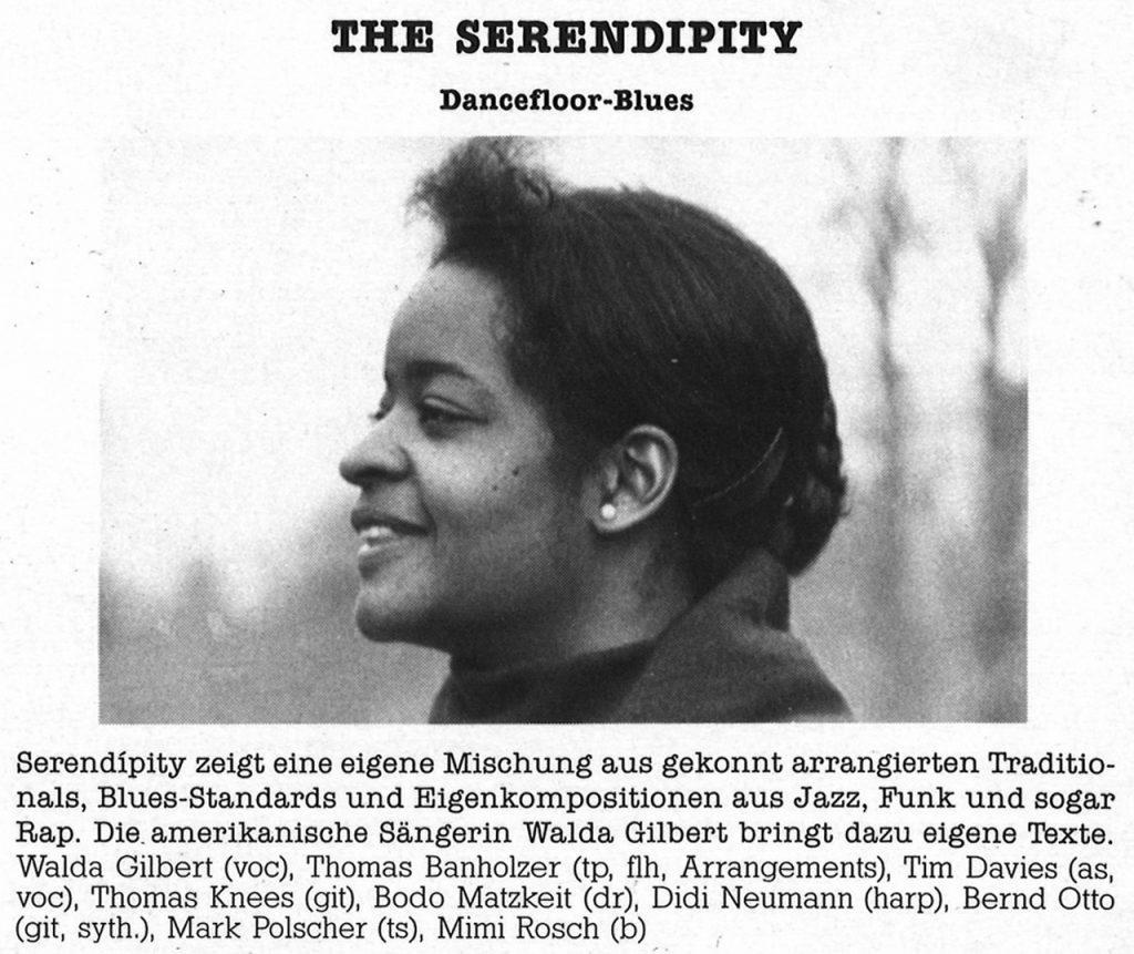 Feierwerk_Blog_Munich_Blues_LP_Sunrise_1988_ Band 6_The_Serendipity_(c)Feierwerk