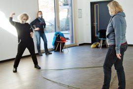 Improtheater in der Funkstation: Spontanität, Lockerheit und ganz viel Spaß