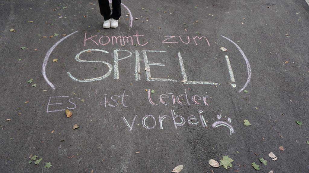 Feierwerk_Suedpolstation_Schnitzeljagd im Park_credit_Elise_Schupeta